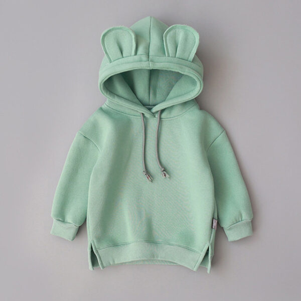Toddler Kids Baby Boy Girl Cartoon Hooded Top Jacket Outerwear Coat Warm Clothes